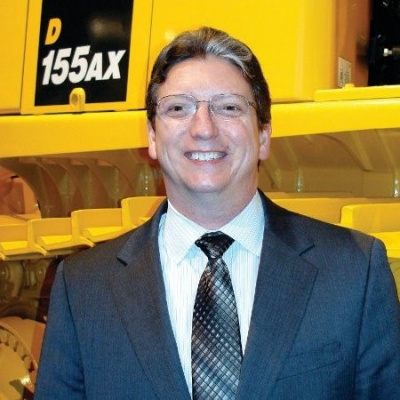 Rich Smith, VP Product & Services at Komatsu America Corp.
