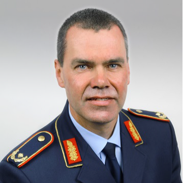 Brigadier General Gerald Funke, Head of Division Strategic Defence Planning and Concepts at Federal Ministry of Defence, Germany