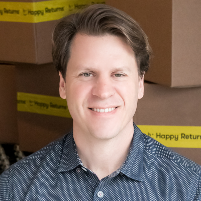 David Sobie, CEO & Co-Founder at Happy Returns