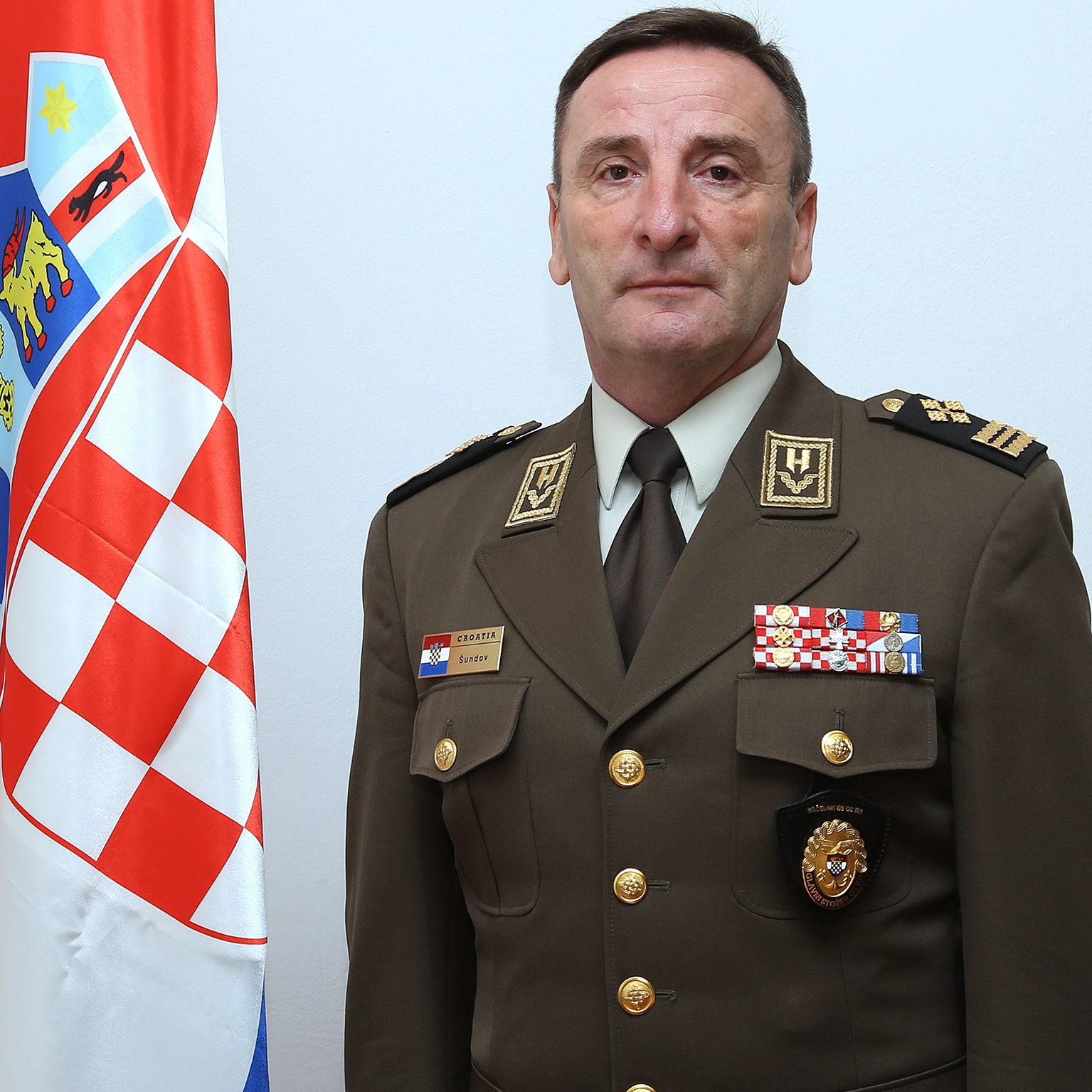 General Mirko Šundov, Chief of Defence at Croatian Armed Forces