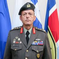 Lt General Ilias Leontaris, Chief of Defence of the Republic of Cyprus at Cypriot National Guard