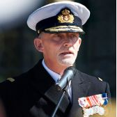 Rear Admiral Torben Mikkelsen, Admiral Danish Fleet at Royal Danish Navy