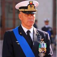 Vice Admiral Giuseppe Cavo Dragone, Commander Joint Operational Command at Italian Ministry of Defence
