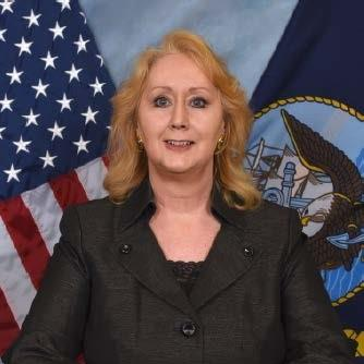 Dr. Thresa Lang , SES, Director of the Navy Cybersecurity Division (N2/N6G) for the Deputy Chief of Naval Operations for Information Dominance at United States Navy