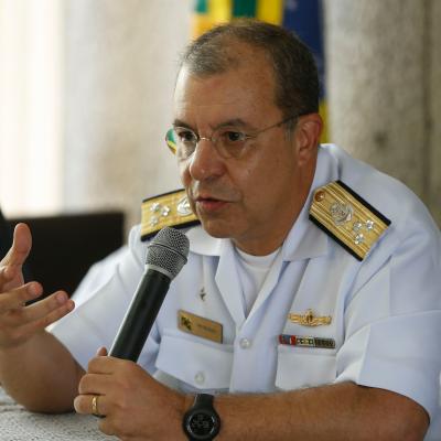 Vice Admiral Petronio Augusto Siqueira de Aguiar, Director of Programmes at Brazilian Navy