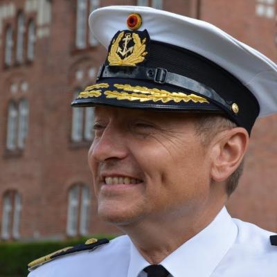 Rear Admiral Wilhelm Tobias Abry, Deputy Operation Commander at EU NAVFOR Op Atalanta
