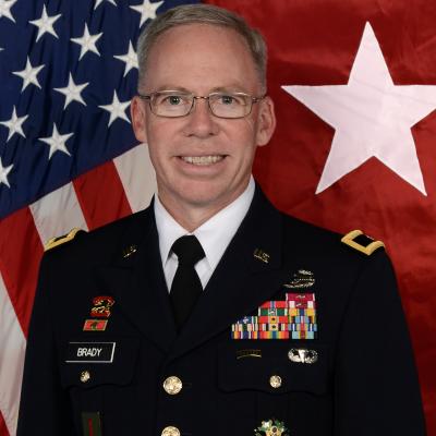 Brigadier General Gregory Brady