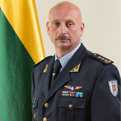 Colonel Dainius Guzas, Commander at Lithuanian Air Force