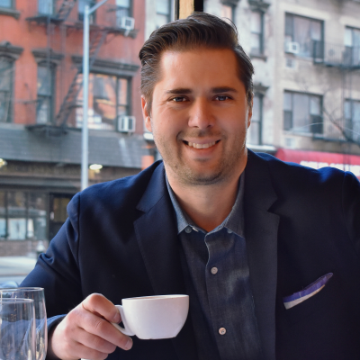 Robert Guarino, CEO at 5 Napkin Burger