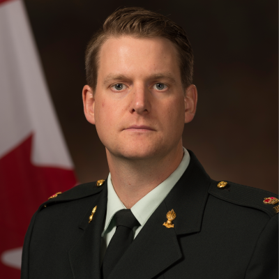 Maj Keith Woodill, The Royal Canadian Artillery School at Canadian Armed Forces Department of National Defence