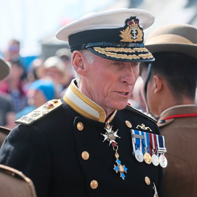Vice Admiral (Ret'd) Sir Ian Corder KBE CB