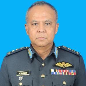 Major General Dato' Muhamad Norazlan bin Aris, Chief of Staff Air Operation Command Headquarters at Royal Malaysian Air Force