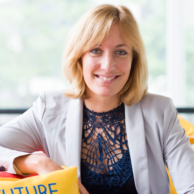 Amy Brix, Global Head of Online Delivery at Unilever