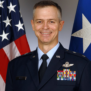 Major General Craig D. Wills, Commander, 19th Air Force at U.S. Air Force