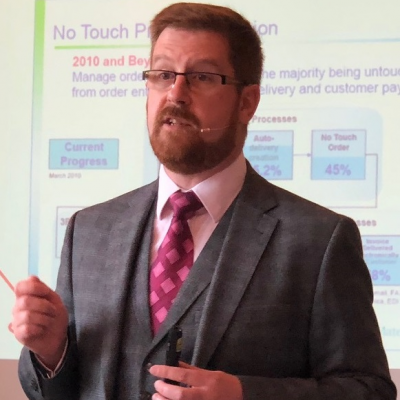 Simon Hardy, Senior Director of Customer Solutions at Elemica