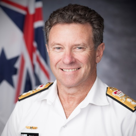 Rear Admiral Peter Laver, Commander at Maritime Border Command, Australian Border Force