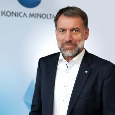 Joerg Hartmann, President and Managing Director at Konica Minolta Business Solutions Germany & Austria