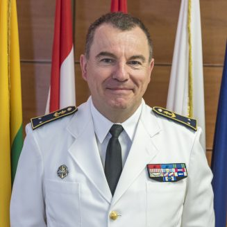 Rear Admiral Olivier Bodhuin, Deputy Commander at EUNAVFORMED Operation Sophia