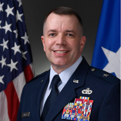 Brigadier General David Sanford, Commander at DLA Aviation (Subject to Legal Confirmation)