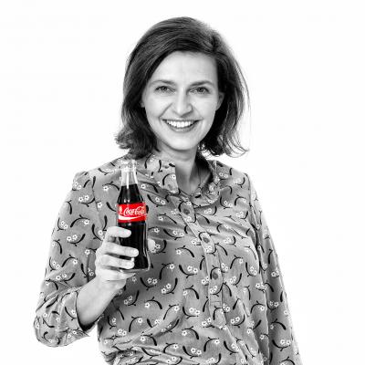 Gabriela Seir, Director Digital Tech & Innovation - Europe at Coca-Cola European Partners
