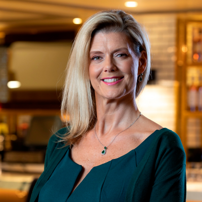 Kim Dinsmoore, Vice President of Restaurant Operations at The Smith & Wollensky Restaurant Group, Inc.