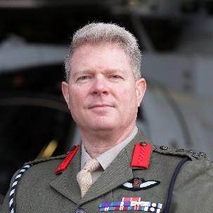 Brigadier Steve Hussey