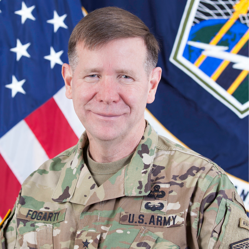 Lieutenant General Stephen Fogarty, Commander at U.S. Army Cyber Command