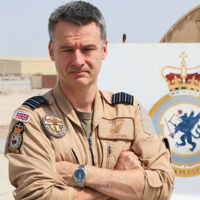 Air Commodore Dan Storr OBE MSC