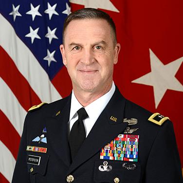 Major General Erik Peterson