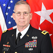 Lieutenant General Theodore Martin, Deputy Commanding General/ Chief of Staff at TRADOC
