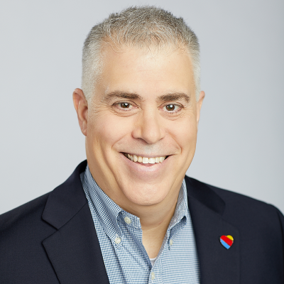 Greg Muccio, Director Talent Acquisition at Southwest Airlines