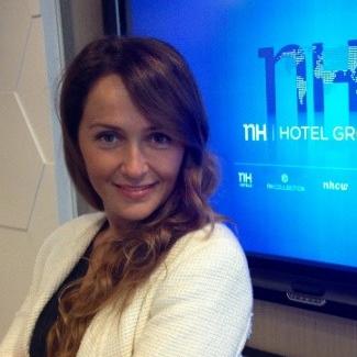 Verónica González, B2B Digital Sales Director at NH Hotels