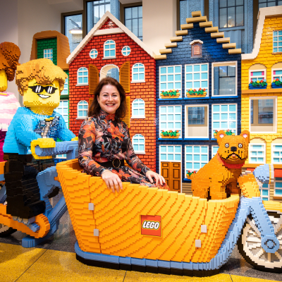 Simone Sweeney, Vice President, Global Retail Development at The LEGO Group