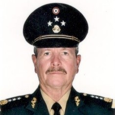 Lieutenant General André Georges Foullon Van Lissum, Secretary of National Defence at Federal Government of Mexico