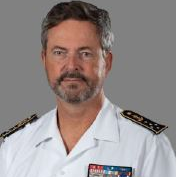 Admiral Hervé de Bonnaventure, Inspector General at French Armed Forces