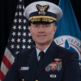Rear Admiral Eric Jones