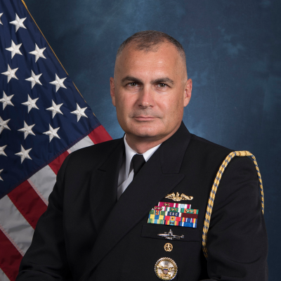Rear Admiral Anthony Carullo
