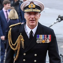 Admiral Anthony David Radakin, CB, ADC