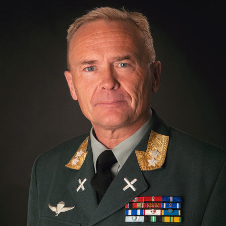 Major General Johannessen Odin