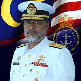 Rear Admiral Dato' Zulhelmy bin Ithnain, Assistant Chief of Staff Planning Development at Royal Malaysian Navy