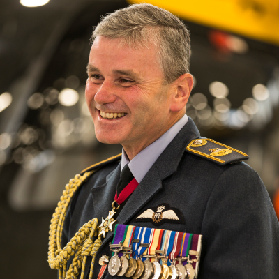 Air Marshal Andrew Turner CB CBE MA MSc BA FRAeS CCMI