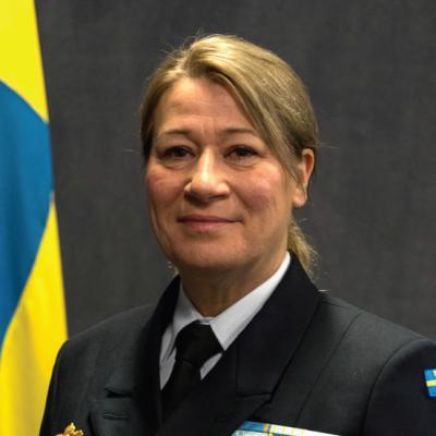 Rear Admiral Ewa Skoog-Haslum