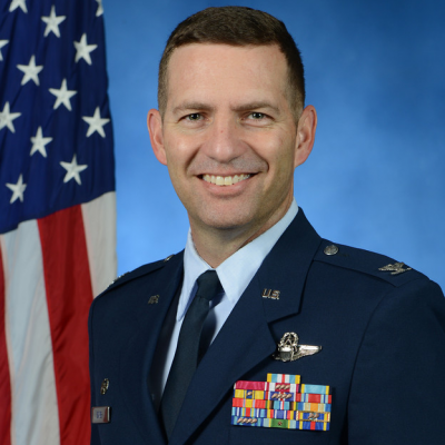 Colonel Robert Davis, 3rd Wing Commander at USAF