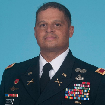 Colonel Kareem P. Montague, Fires Division Chief Force Development at Army G-8