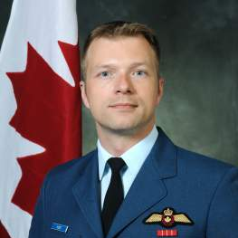 Colonel David J. Pletz, Director of Fighter Capability Transition and Integration at Royal Canadian Air Force