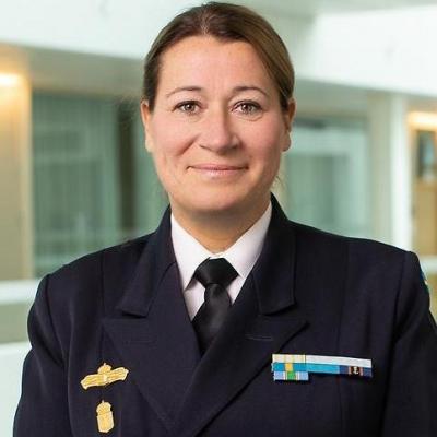 Rear Admiral Ewa Skoog Haslum