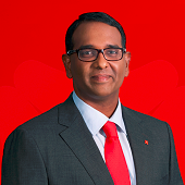 Raju Nair, Managing Director, Regional Head Customer Journey Experience at DBS Bank