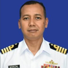 Capt. Mohd Norizal bin Fahrudin RMN, Assistance Chief Of Staff Operation, HQ Western Fleet at Royal Malaysian Navy