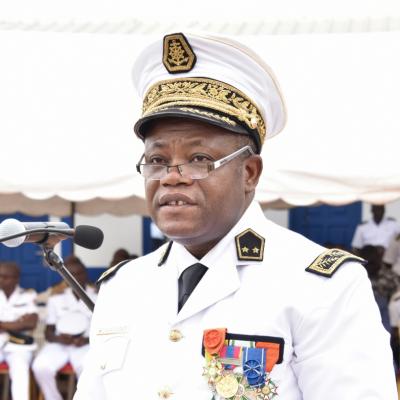 Vice Admiral Djakaridja Konaté