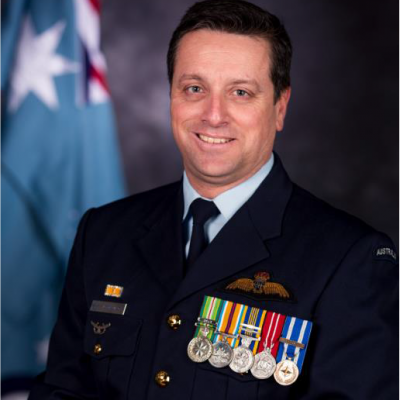 Air Commodore Adrian Maso
